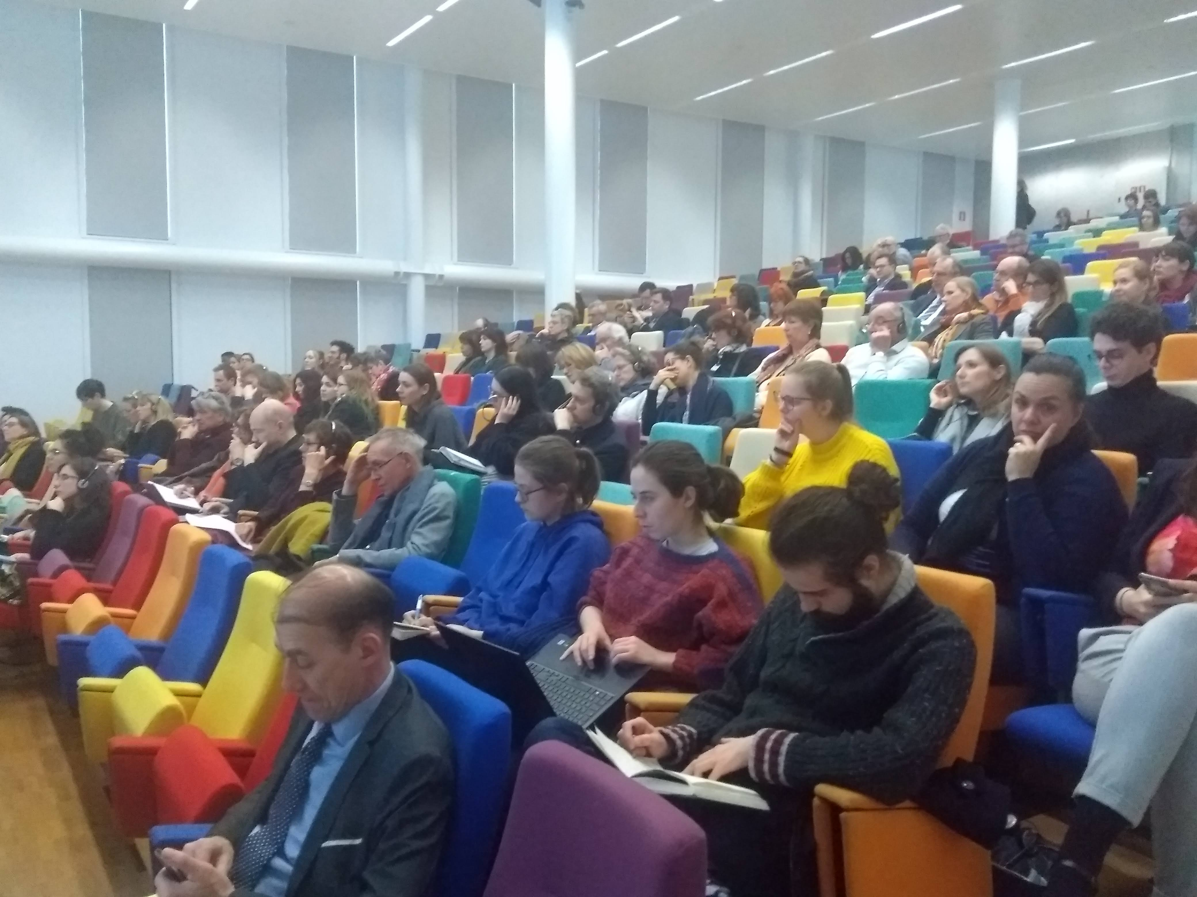 Audience at the European Book Conference